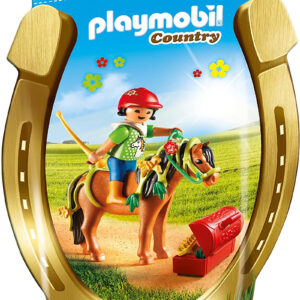Playmobil Πόνυ Με Λουλουδάκια Και Κοριτσάκι 6968