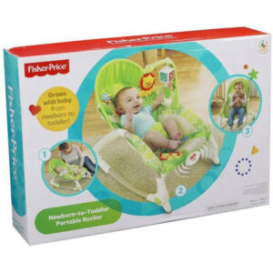 Fisher-Price Newborn To Toddler - Ριλάξ/Κούνια BCD28