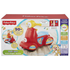 Fisher-Price Fisher Price Laugh And Learn Εκπαιδευτικό Scooter Smart Stages DHN78