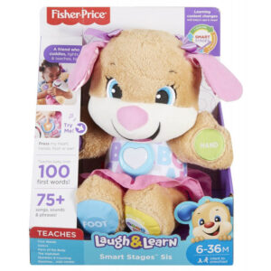 Fisher-Price Smart Stages Σκυλάκι Ροζ FPP82