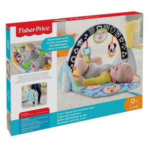 Fisher-Price 2 Σε 1 Flip And Fun Φορητό Γυμναστήριο FXC14