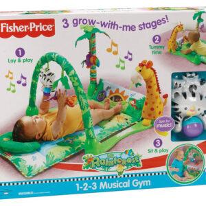 Fisher-Price Πάπλωμα - Γυμναστήριο Rainforest L1664
