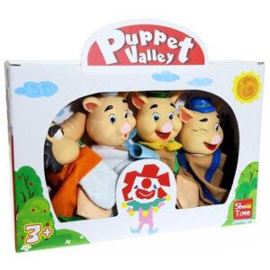 Puppet Valley Μαριονέτες (3 Γουρουνακια) 4τεμ. 7292M