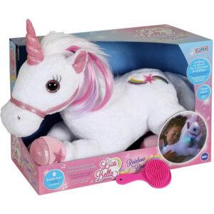 GiPSY Lica Bella Unicorn Λούτρινο Μονόκερος Με Ήχο Και Φως 35 Εκ. GIP55648