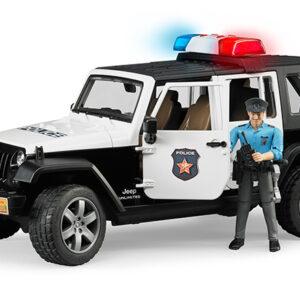 Τετρακίνητο όχημα Wrangler Αστυνομίας με αστυνομικό