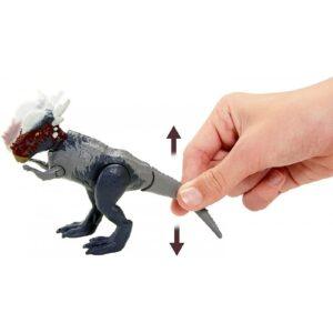 Mattel Jurassic World Savage Strike Βασικές Φιγούρες Δεινοσαύρων Με Σπαστά Μέλη Stygimoloch GCR54 / GVG49